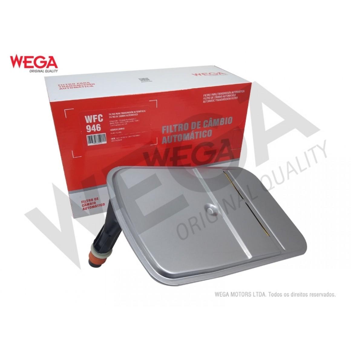 Filtro Câmbio Automático Omega Bmw Wega WFC946