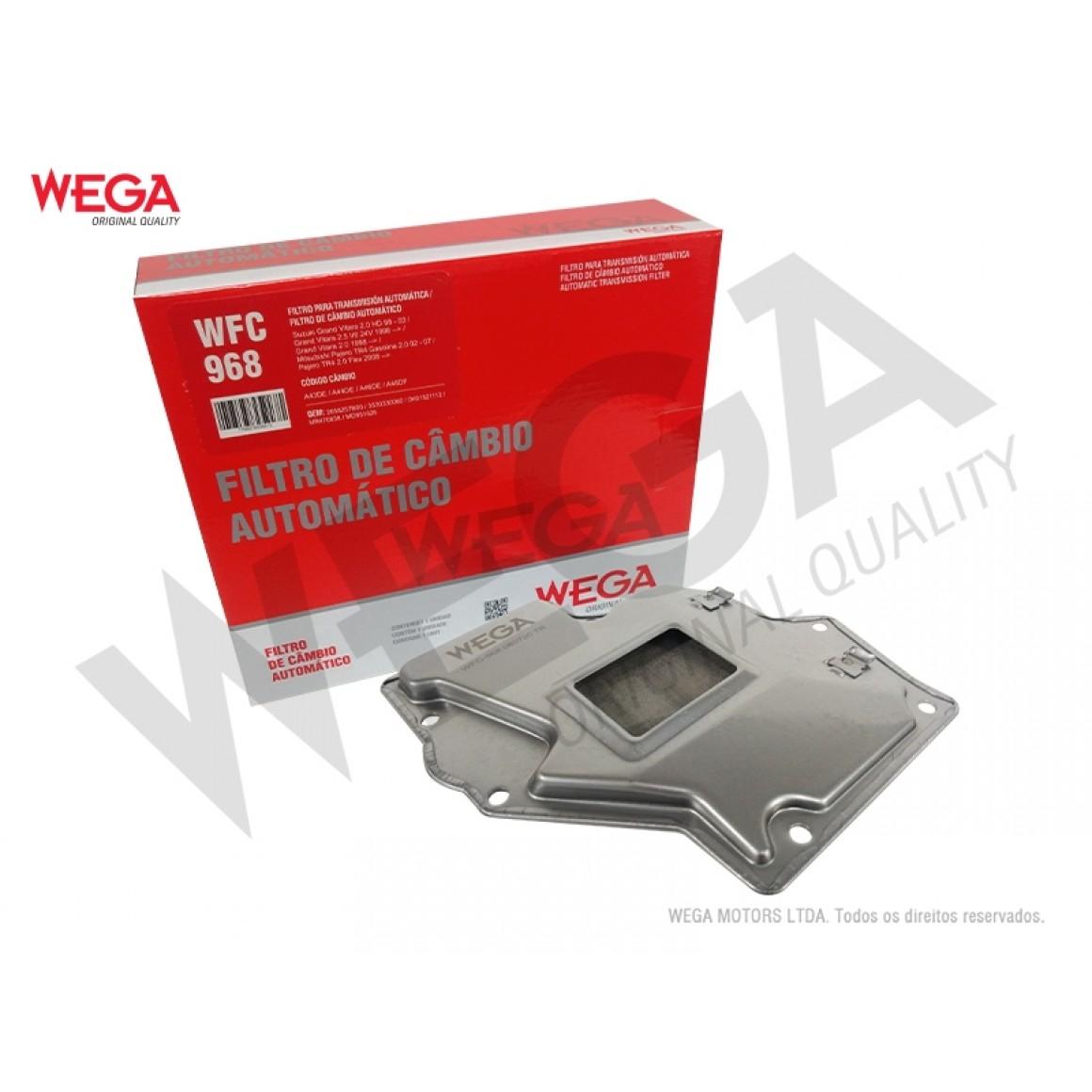 Filtro Câmbio Automático Pajero TR4 Grand Vitara Wega Wfc968