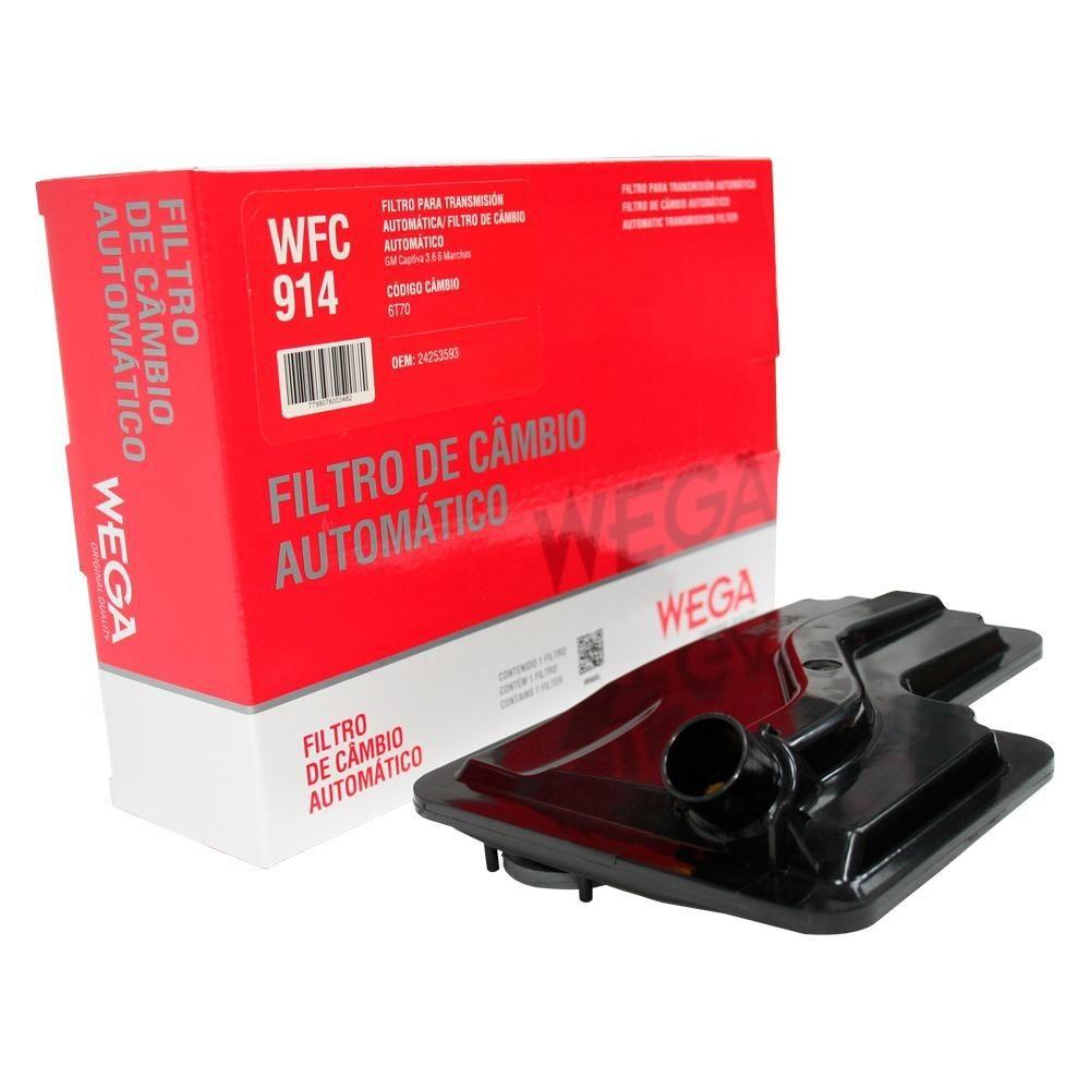 FILTRO CAMBIO AUTOMATICO WFC914 EDGE FORD 3.5