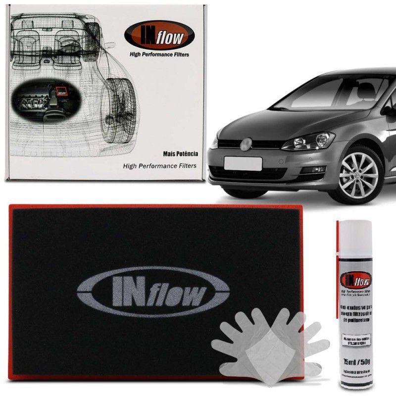 Filtro De Ar Inflow Vw Golf Gti Jetta Gli Tiguan Passat Audi A3  S3  Tt 1.8 2.0 Tsi Tfsi Hpf4150
