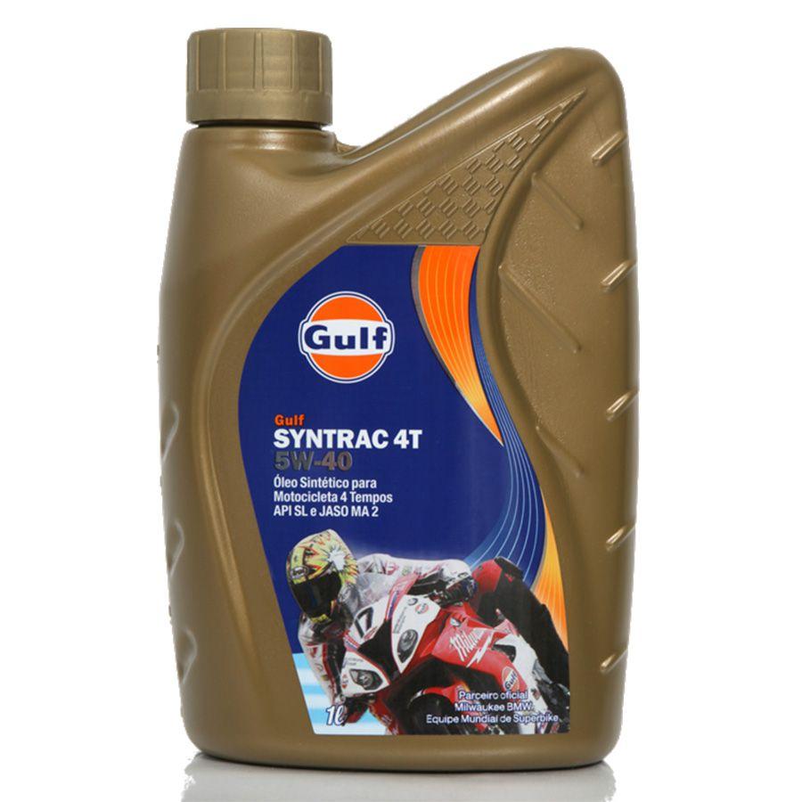 GULF - GULF SYNTRAC 4T 5W40