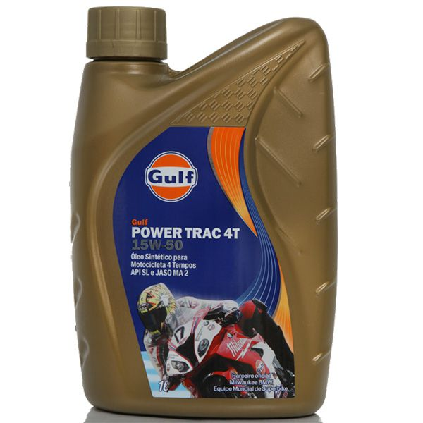 GULF - POWER TRAC 4T 15W50 1 LT