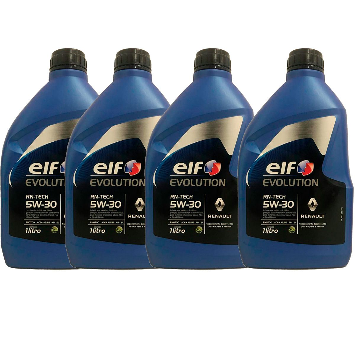 KIT 4 ELF RN TECH 5W30 sintetico