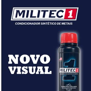 Kit Condicionador de Metais Militec-1 200ML 2unidades