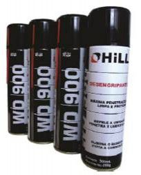 KIT DESENGRIPANTE WD900 300ML HILL 12 UN