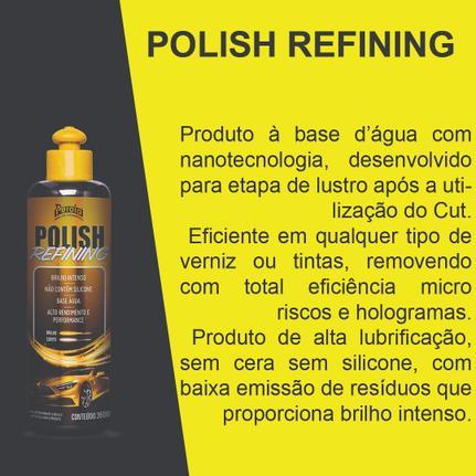 Kit Polimento Pérola Polish Corte Refino Brilho Para Autos
