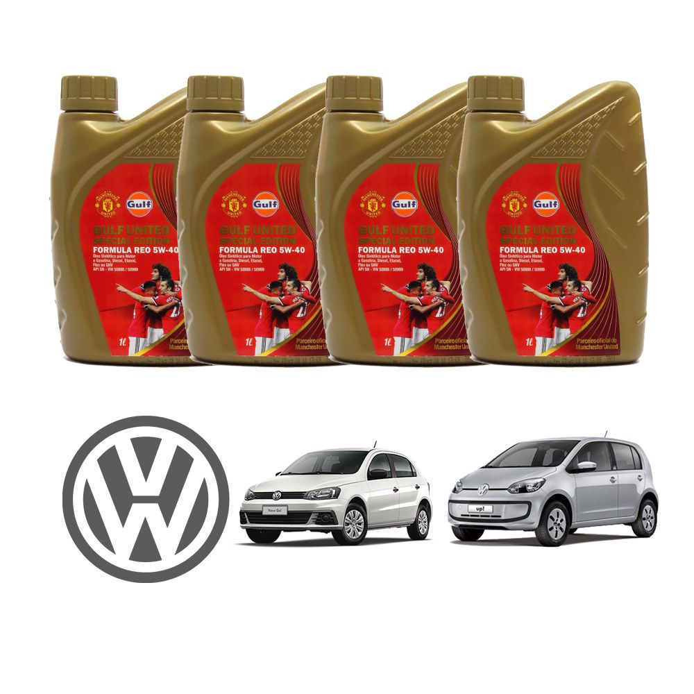 KIT VW 4 LT 5W40 508.88 GULF HOMOLOGADO VW