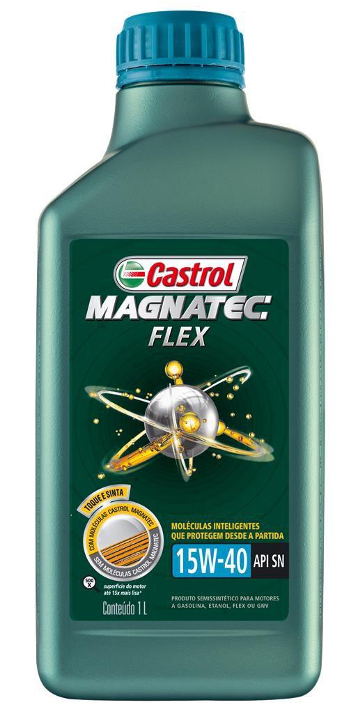 Oleo Motor Castrol Magnatec 15w40 Flex 1l