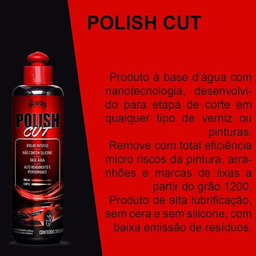 Polidor Polish Cut Perola 350ml Fase Corte