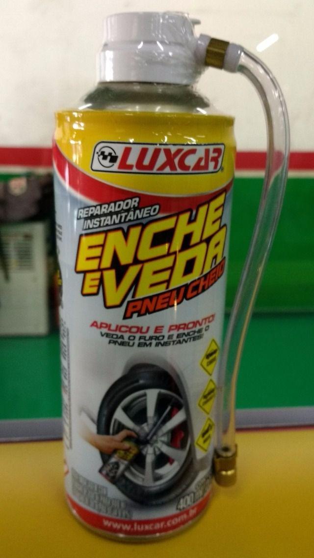 Reparador Instantaneo De Pneus Luxcar Enche E Veda