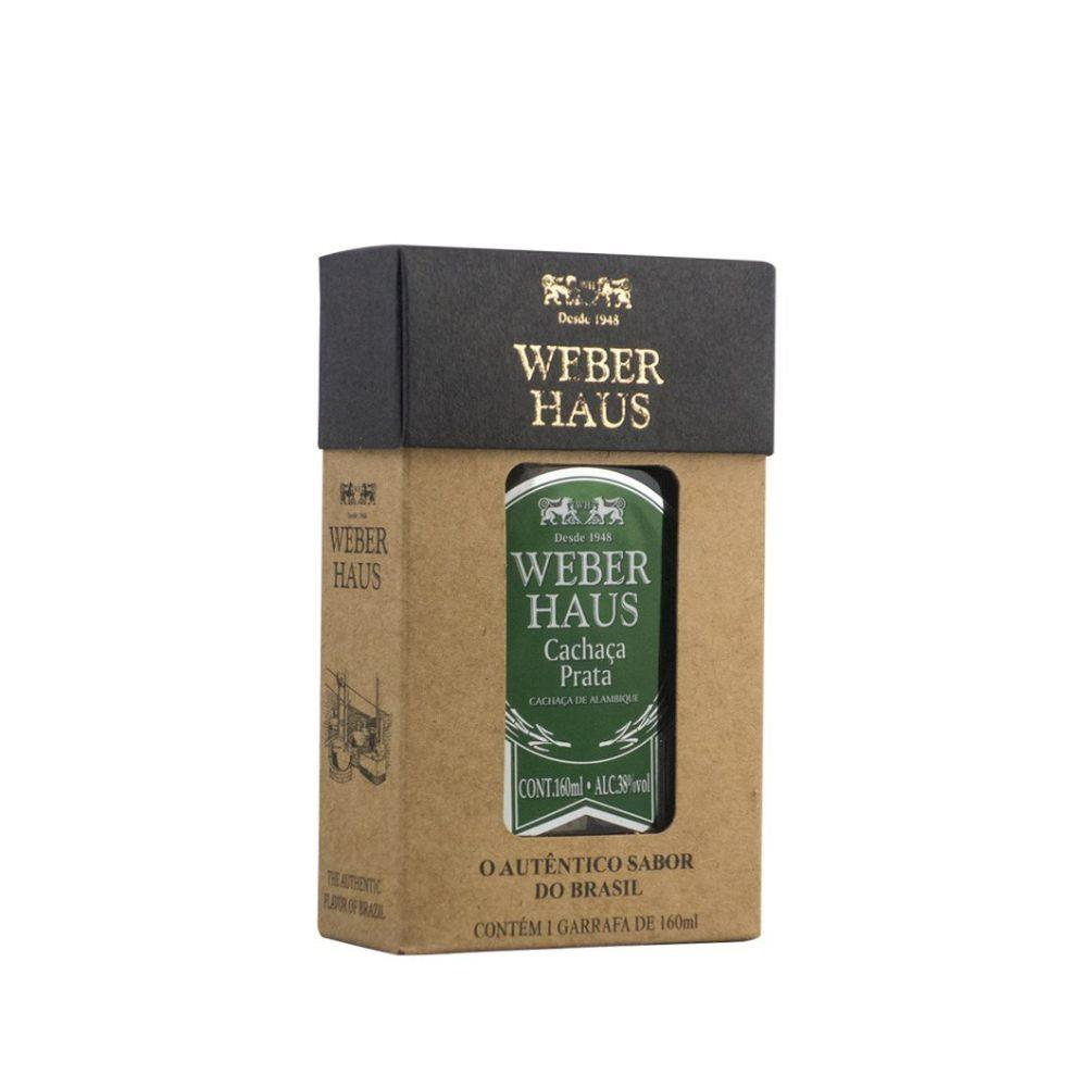WEBER HAUS KIT 4 X 160ML EXTRA GOLD BLACK PRATA