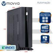 Computador Automacao MVAC INTEL Quad Core J4105 1.50GHZ MEM. 8GB DDR4 sem HD HDMI/VGA Fonte 60W