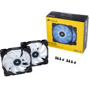 Cooler para Gabinete Corsair AF140 140MM LED AZUL CO-9050090-WW C/ 02 UND