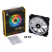 Cooler para Gabinete Corsair LL120 RGB LED 120MM CO-9050091-WW