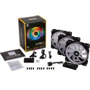 Cooler para Gabinete Corsair LL120 RGB LED 120MM Lighting Node PRO CO-9050092-WW C/ 03 UND