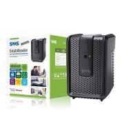 Estabilizador SMS 15971 Revolution Speedy USP500S ENT e  Saida 115V 4 Tomadas