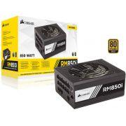 Fonte 80PLUS GOLD Corsair CP-9020083-WW RMI 850W Digital PFC Ativo Bivolt Modular
