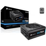 Fonte 80PLUS Platinum Corsair CP-9020072-WW HXI 750W ATX PFC Ativo Modular