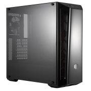 Gabinete Masterbox Preto C/ Acrilico MB520 MCB-B520-KANN-S01