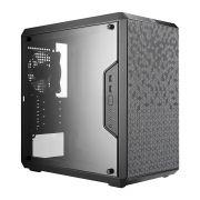 Gabinete Masterbox Preto C/ Acrilico Q300L MCB-Q300L-KANN-S00