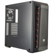 Gabinete Masterbox Preto Vermelho MB511 MCB-B511D-KANN-S00