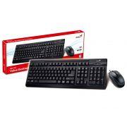 Kit Teclado e Mouse Genius 31330209103 KM-125 USB Teclado
