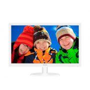Monitor Philips 21,5 LED 1920X1080 Wide HDMI VGA Branco 223V5LHSW