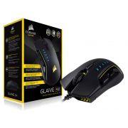 Mouse Gamer Corsair Glaive CH-9302011-NA Optico 16000DPI RGB Preto