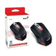 Mouse Gamer Genius X-G200 USB Preto com iluminação LED