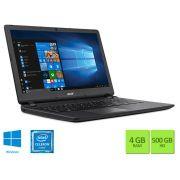 Notebook Acer Dual Core N3350 4Gb 500Gb 15.6 Win 10 NXGJ7AL007