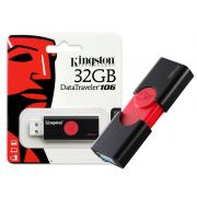 Pen Drive 32GB Kingston USB 3.0 Datatraveler 106 DT106/32GB