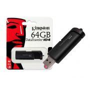 Pen Drive 64GB Kingston USB 2.0 Datatraveler 104 DT104/64GB