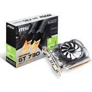 Placa de Video Geforce GT 730 2GB DDR3 128 BITS MSI N730-2GD3V3