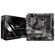 Placa Mae ASROCK B450M PRO4 AM4 USB 3.1 / TYPE-C /  DDR4 / HDMI, DVI-D, D-SUB