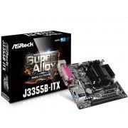Placa Mae ASROCK MINI-ITX + Processador INTEL® DUAL-CORE J3355B (2.5 GHZ) 2X DDR3 SO-DIMM /D-SUB/HDMI - SERIAL/PARALELA