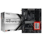 Placa Mae ASROCK X470 Master SLI/AC - AMD AM4 /  DDR4 / USB 3.1 / TYPE-C / HDMI / M.2