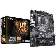 Placa Mae LGA 1151 INTEL Gigabyte Z390 UD ATX DDR4 4133MHZ HDMI M.2 Crossfire
