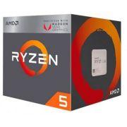 Processador AMD RYZEN 5 2400G 4C/8T 3,6GHZ(3,9GHZ TURBO)45-65W 6MB AM4 820PTS Radeon RX Vega 11 INTEGRADA-YD2400C5FBBOX