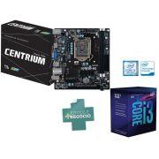 Processador Core I3 LGA 1151 INTEL BX80684I38100 Quad Core I3-8100 3.60GHZ 6MB Cache GRAF UHD 8GER
