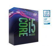 Processador Core I5 LGA 1151 INTEL BX80684I59600KF Hexa Core I5-9600KF 3.7GHZ 9MB Cache 9GER S/COOLER