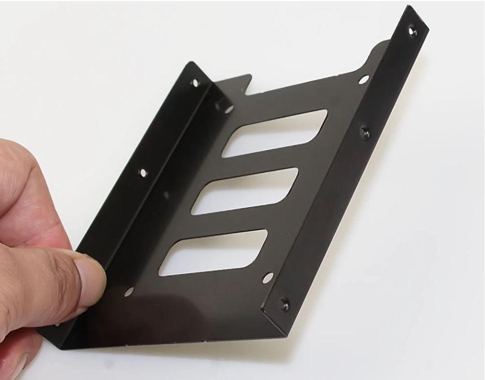 Adaptador HD SSD de 2.5 para 3.5 Desktop Metal Preto com parafusos