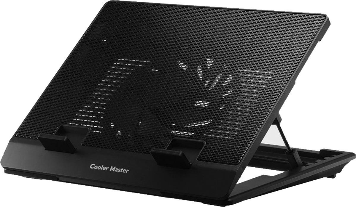 Base para Notebook Ergostand Lite Preta - 1 FAN 160MM - R9-NBS-ESLK-GP