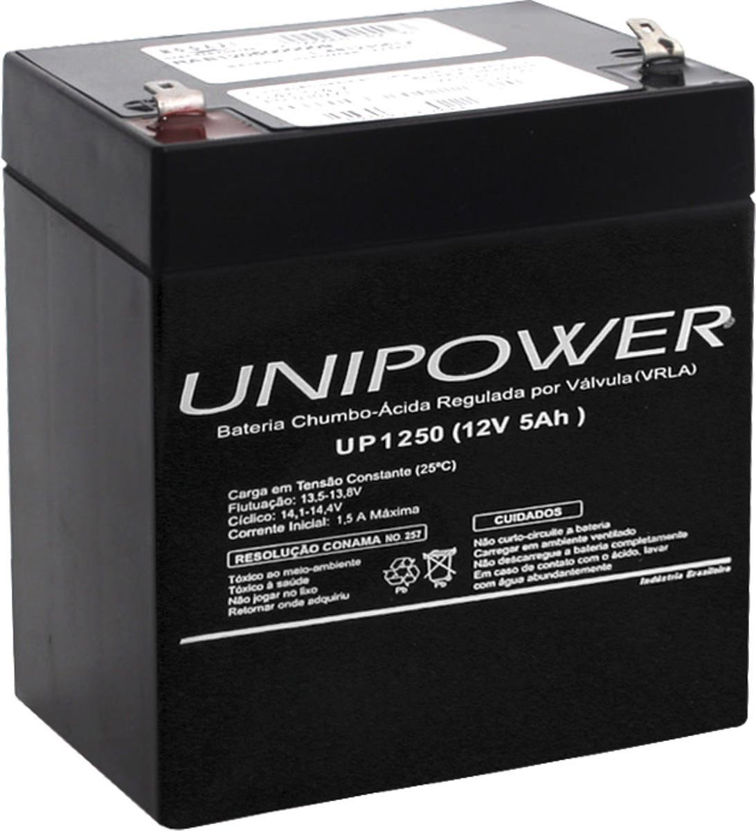 Bateria Estacionaria 12V 5,0AH Unipower UP1250