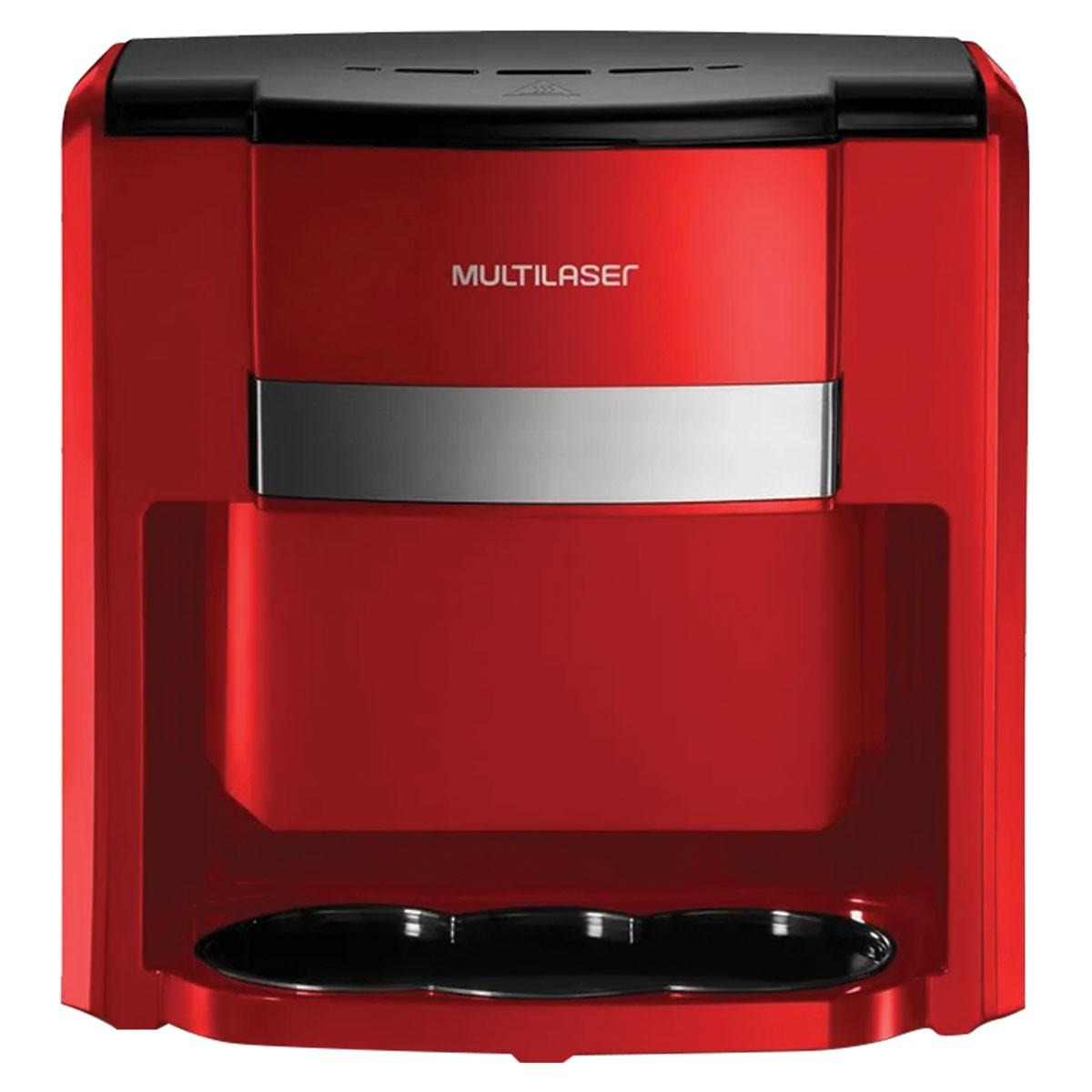 Cafeteira Eletrica 220V 500W Capacidade de 2 Xicaras Vermelho - BE016