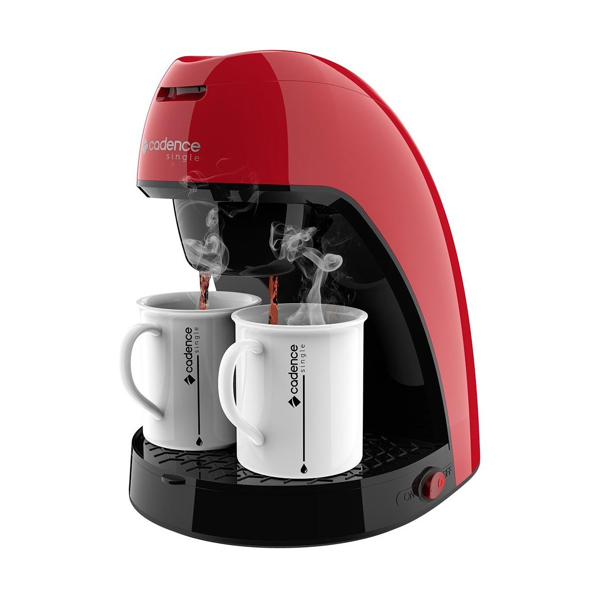 Cafeteira Single Colors Vermelha CAF211 127V