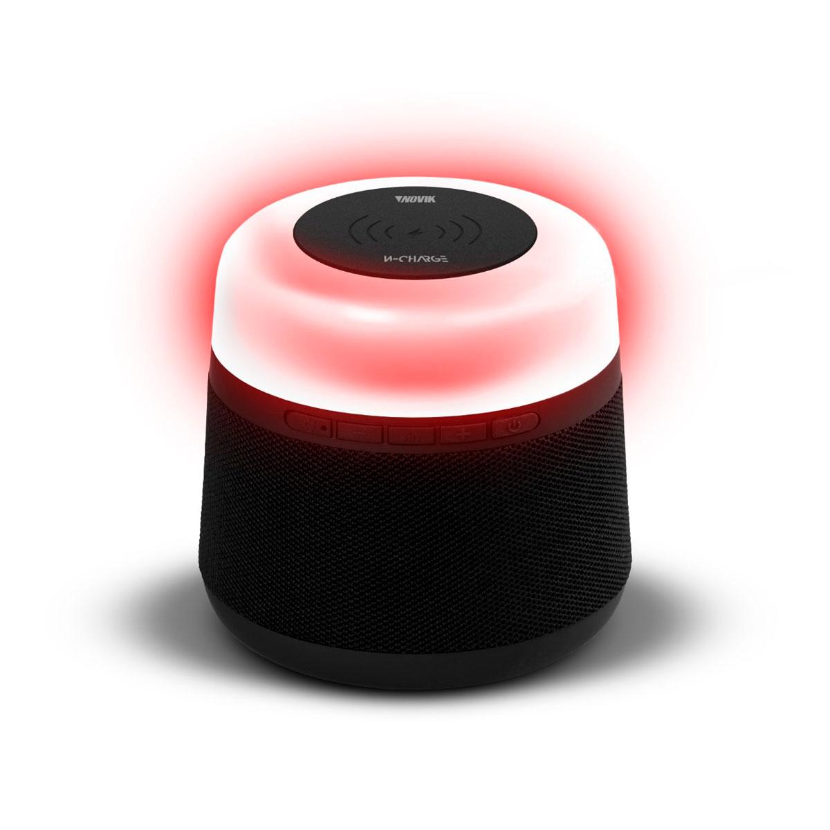 Caixa de Som Bluetooth/USB/SD W-Charge com Bateria Interna e Iluminação