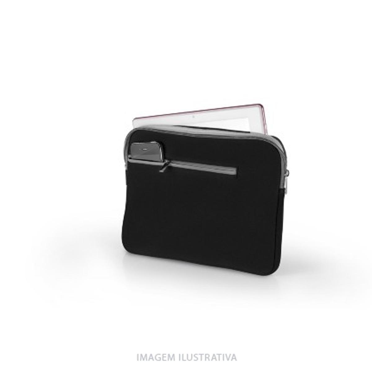 Case Notebook até 15,6 Polegadas Neoprene Preto e Cinza BO400 Multilaser