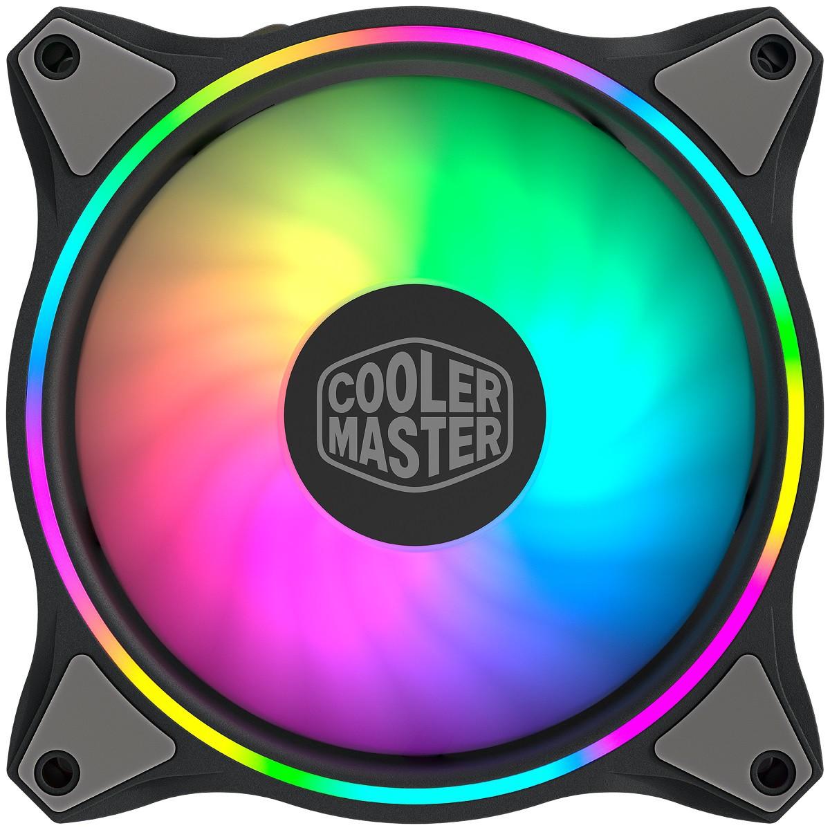 Cooler para Gabinete Masterfan MF120 Halo - 120MM - MFL-B2DN-18NPA-R1