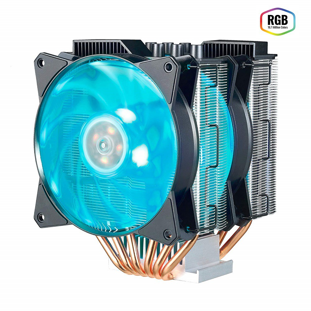 Cooler para Processador Master AIR MA620P RGB -  PUSH AN PULL - MAP-D6PN-218PC-R1