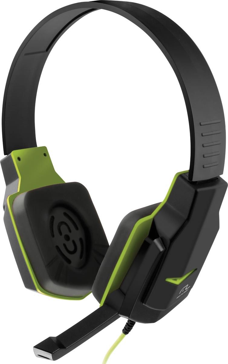 Fone de Ouvido Headset Gamer Verde Controle de Volume PH146